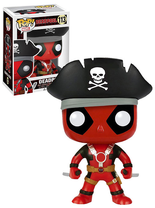 FUNKO POP DEADPOOL #113 -Hot Topic Exclusive