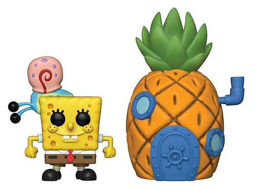 FUNKO POP! SPONGEBOB WITH GARY & PINEAPPLE HOUSE VINYL FIGURE #02