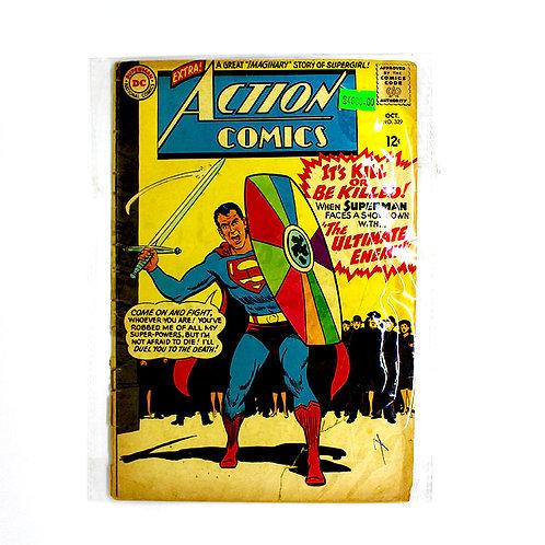 ACTION COMICS SUPERMAN NO.329 OCT
