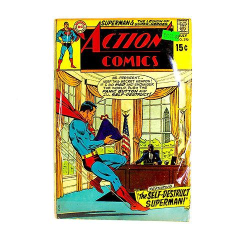 ACTION COMICS SUPERMAN NO. 390 JULY