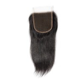 Virgin Brazilian Straight Free Parted Lace Closure