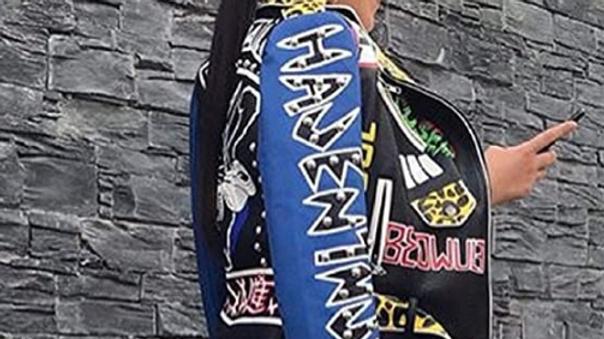 biker designed jacket