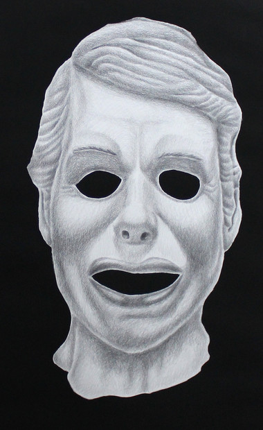 Study of a White Mask