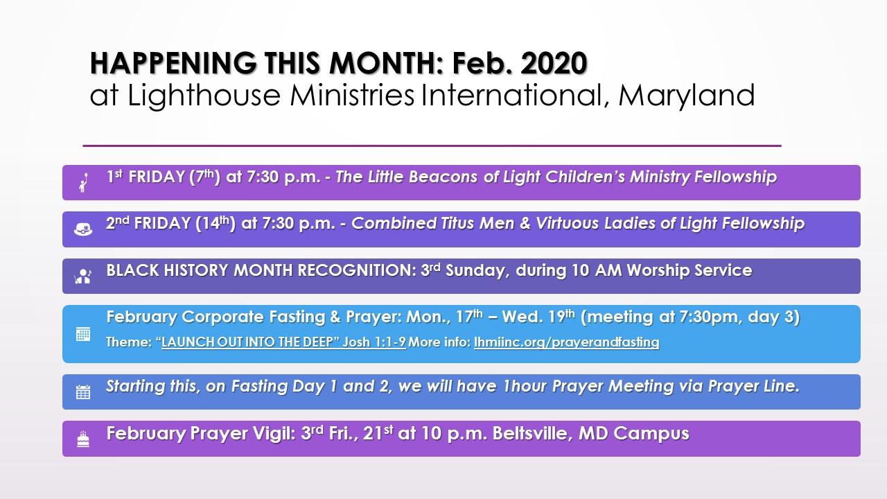 Upcoming in Feb. 2020 at LHMI HQ.jpg