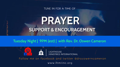 Prayer Time with Dr Cameron (Tues) -jelc
