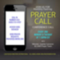 Monthly Fasting Prayer Call 2020 at LHMI