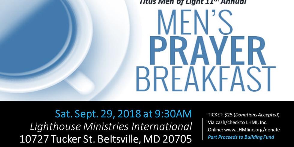 11th Annual Men's Prayer Breakfast