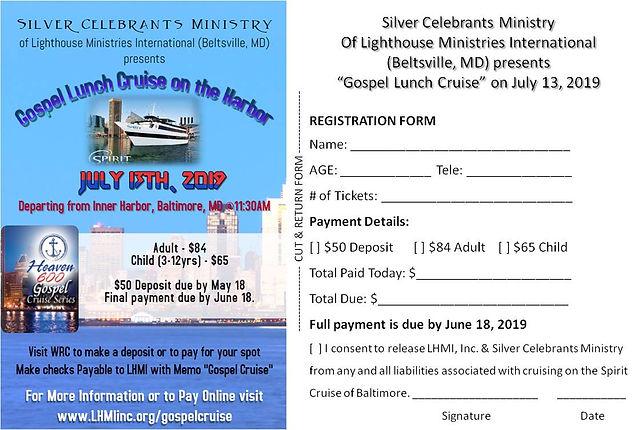 Silver Celebrants Gospel Cruise 7.13.201