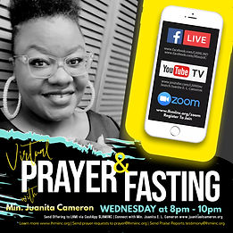 Slide8-3 Monthly Fasting  Virtual Prayer