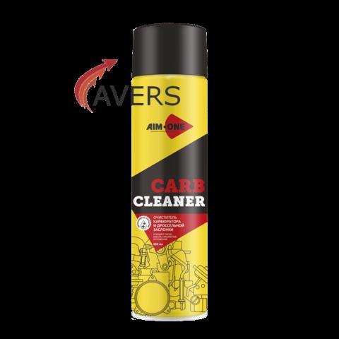 Очиститель карбюратора и дроссельнойзаслонки CARB CLEANER+ (AIM-ONE)