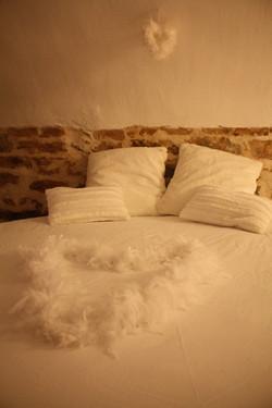Un lit rond ...
