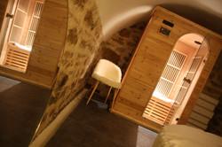 Le sauna...