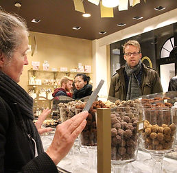 Teambuilding - chocolate tour chez Mary.