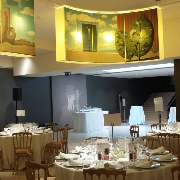 Private dinner in Magritte museum