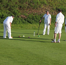 Team building croquet initiation