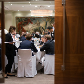 Gala dinner in a private room