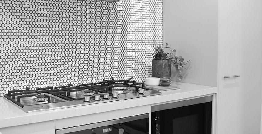 Gallerie showroom Kitchen