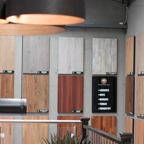 Perfect timber floors display