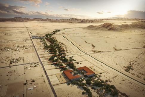 Desert Smells Like Rain Masterplan
