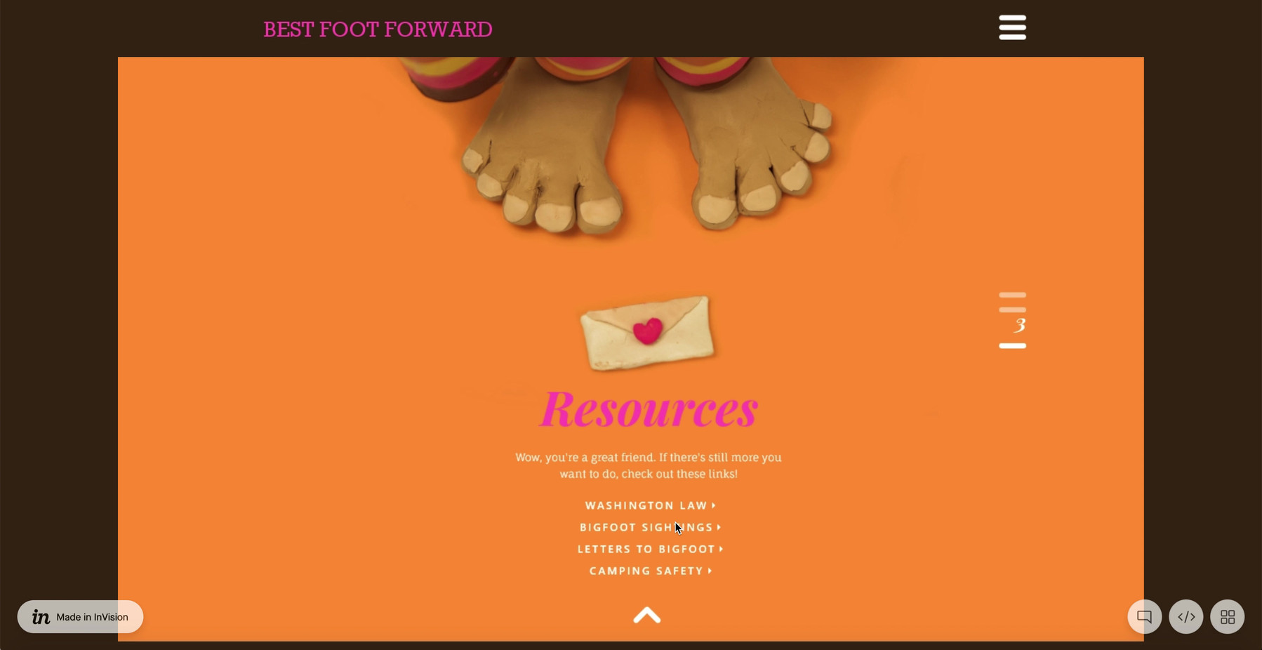 Responsive Design Desktop - Ad Council P