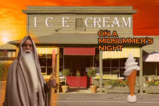 Ice Cream on a Midsummer's Night