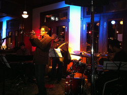 playing with Alexander Brown Quintet