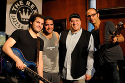 with Robb Cappelletto Band