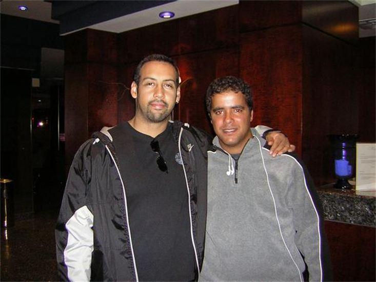 with Antonio