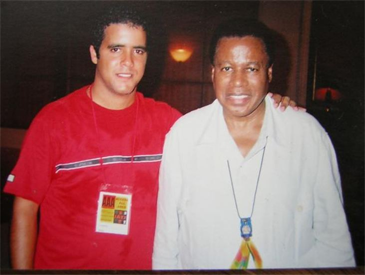 with Wayne Shorter