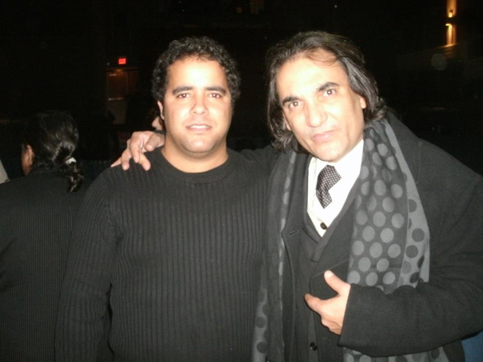with El Negro