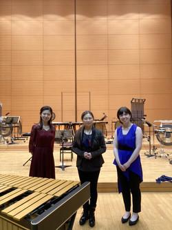 inc percussion days 2021 in Sagamiko, Dual recital
