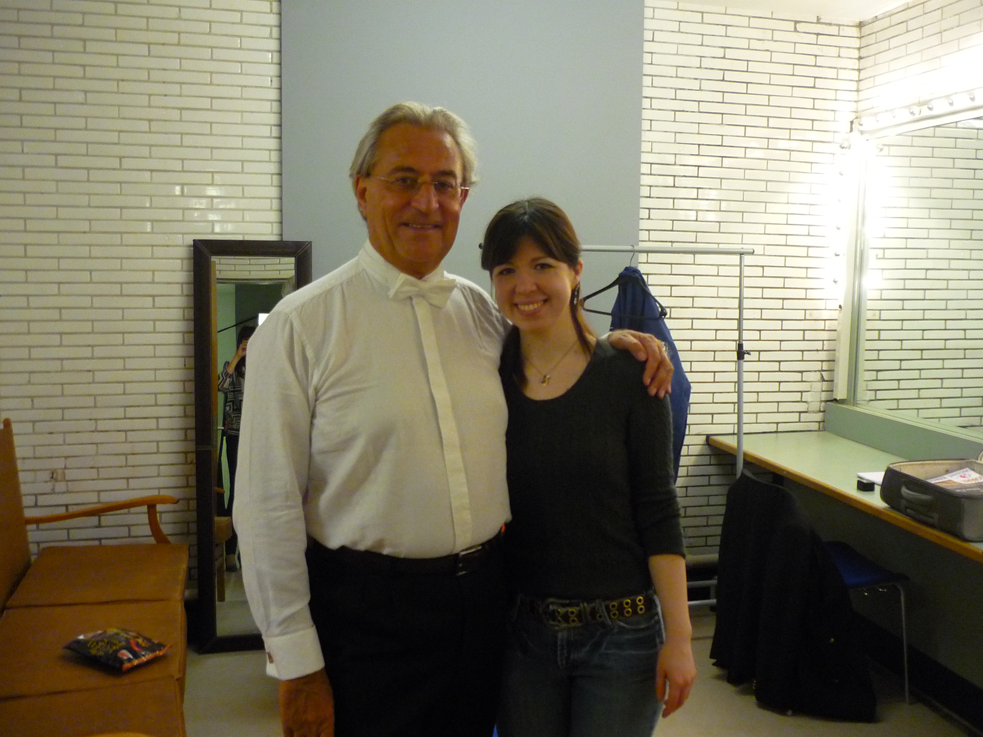 with maestro Walter Proost