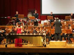 with Jeugd en Muziek Orkest Antwerp