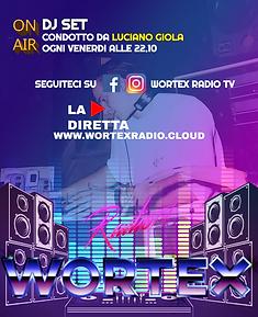 (VENERDI)LOCANDINA DJSET WORTEX RADIO SA