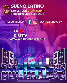 (DOMENICA) LOCANDINA DJSET WORTEX RADIO