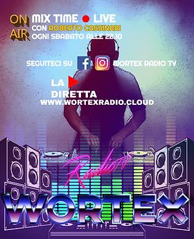 (SABATO)LOCANDINA DJSET WORTEX RADIO SAB