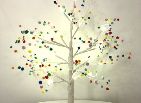 How to make a Pom Pom Tree