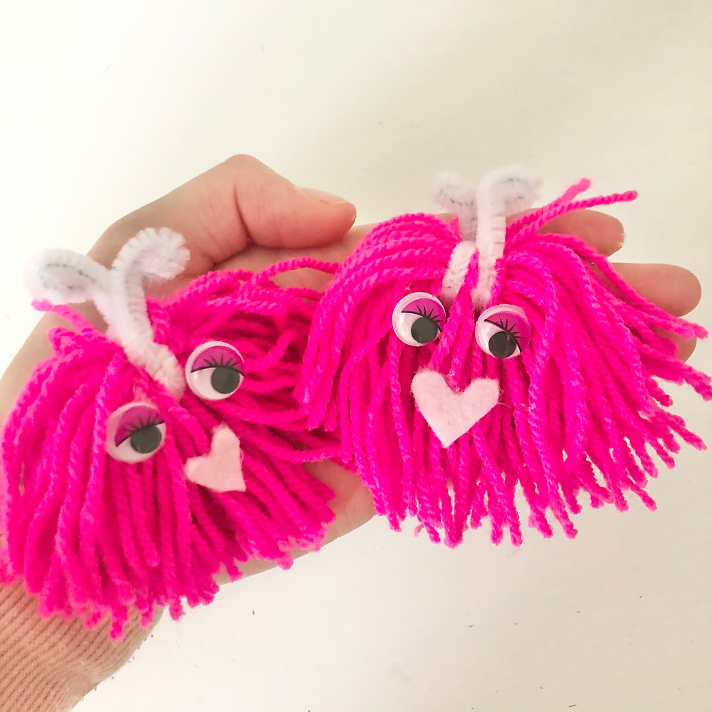 Create a Valentines Monster