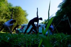 fotoshoot para Alessandra Oram Yoga