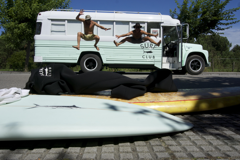 Fotoshoot para Surf Club