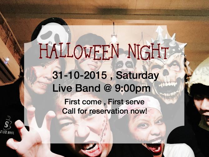 Halloween Nite @ The Safe Room
