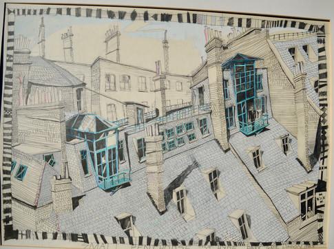 penthouse - hyde park gate london