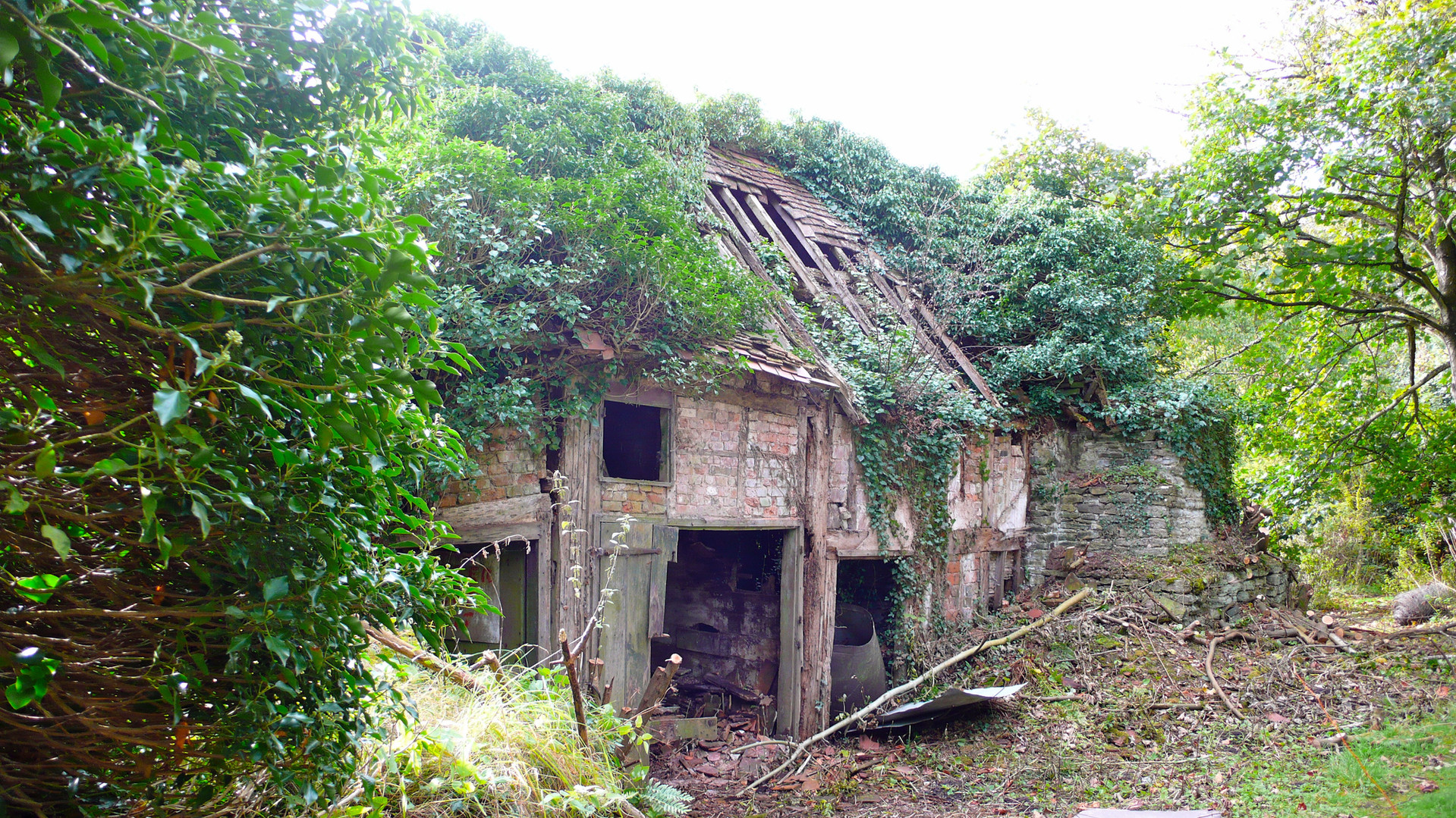 the original ruined cottage