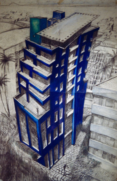 residential tower - taipei, taiwan