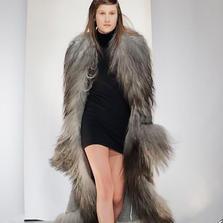 Kåpe i ull og lammeskinn, Oslo Fashion Week