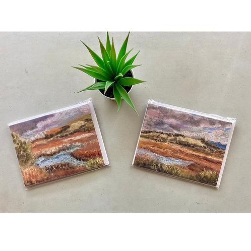 San Elijo Lagoon 3 Notecards