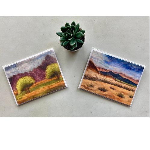 Borrego 1--Palo Verdes Notecards