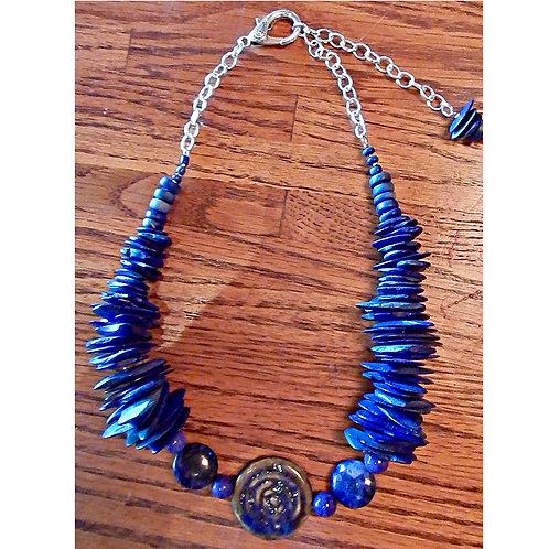 Cobalt Blue Necklace