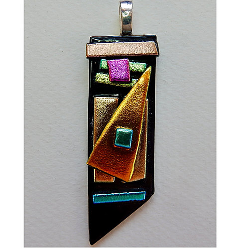 Fused Glass Pendant #5