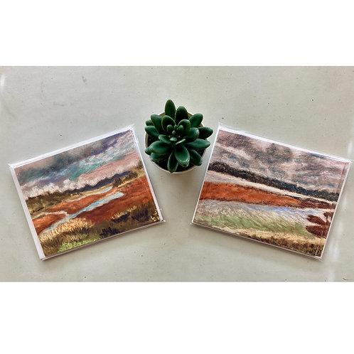 San Elijo Lagoon 4 Notecards